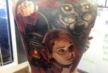Bad Ass Tatts! / Amazing Tattoos! / by Bernard Vivian