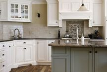 Kitchen Delights / My dream kitchen layouts, materials and decor  / by Natalie Hennessy