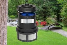 Don't bug me! / Enjoy a bite-free backyard with insect traps and repellers from Sharper Image.