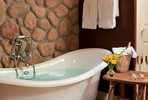 Personal Spa / bathrooms, washbasin, etc. / by Rose Penhale