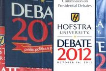 Debate 2012: Pride, Politics and Policy / Materials from the second Presidential debate, town-hall format, held at Hofstra University on October 16, 2012. Also, includes materials that document the University's Debate 2012 initative, which lead up to the debate.