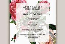 Rose Tinted Design / Design + Invitations