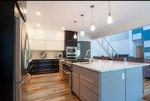 Kitchen - The Heart of the Home / Kitchens we've built throughout the years!