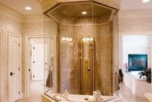 Bathroom Designs / Bathrooms we've built throughout the years!