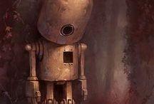 steampunk  & robots