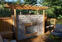 StoneRox Outdoor and Landscape Projects / StoneRox Thin Stone Veneer products used in natural landscape applications
