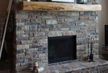 Fireplace Gallery / Fireplace stone veneer galleries by StoneRox