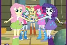 Equestria girls, pony-people