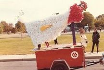1972 Homecoming/Fall Fest / We're taking a look back at the 1972 Homecoming/Fall Fest. Check out some of the most interesting floats and how Hofstra has changed over the years.