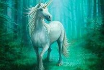 Fantasy / Fairy, elves, witches, unicorns, Pegasus, mermaids and other fantastic, mythical creatures