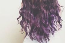 Fargeklatt hår