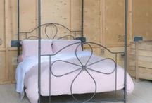 Four Poster Iron Beds / Sleep in Beauty, Metal Bed Frames