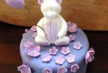 Christening cakes / Homemade christening and baby shower cakes