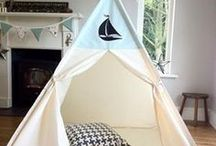 Nautical teepee ideas / The best nautical teepee finds