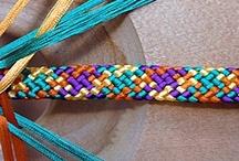 kumihimo and knotting