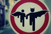 Between Batman and Robin