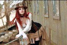Steampunk Women / Steampunk Women and their gear