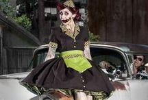 Gothic,Punk Lolita Skirts and Dresses / .