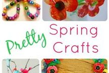 Spring (Activities, Crafts, DIY's, Recipes) / Spring Time crafts and things to do in Spring for families with young children