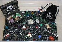 Pirate Theme (Activities, Crafts, DIY's, Recipes) / Pirate activities, crafts, foods etc etc