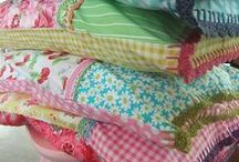 Patchwork and Crochet Edged Pillowcases / Another craft addiction