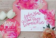 Wedding Invitations & Stationary / Wedding Invitation, diy wedding invite, Vintage Wedding invite, Rustic invitation. I see so many Wedding Invites - gorgeous pictures and lots of inspiration. wedding Invite flower