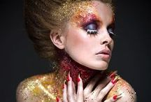 Colors of the Rainbow / Hairstyles, -colours, Make Up & Bodypaint
