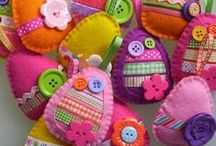 EASTER CRAFTS / Easter crafts for everyone. Diy crafts for the home around the holiday of Easter.