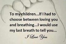 mother's love / being a parent...