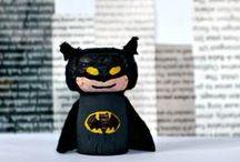 Superheroes / superhero crafts and activities : Spiderman, Batman, Turtles, Superman