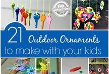 Outdoor Activities for Kids / ideas for getting outside with the kids, from backyard games and other outdoor activities, to gardening with kids and awesome play house ideas.