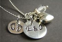 Jewelry for Moms / custom personalized engraved jewelry for moms