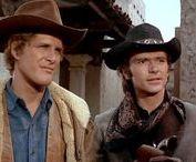Pete Duel and Ben Murphy. / Alias Smith & Jones. Best western ever.