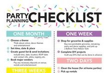 Party Planning Tips / Tips to help you plan your next party!