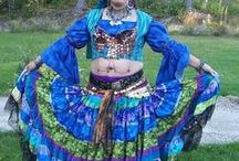 Twirl in a Patchwork Skirt 2