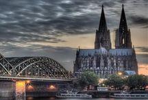 Wohnen in Köln / Wohnen und Leben am Rhein? Wir zeigen euch ein paar Eindrücke der Stadt und freuen uns auf eure Pins. http://www.immobilienscout24.de/wohnen/nordrhein-westfalen,koeln.html