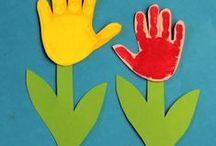 Forår / Egne forårsideer fra min blog www.agnesingersen.dk  Se også min tavle med påskeideer  kids crafts spring