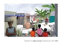 Appel à projets - Quartiers pour Haïti- 2010 / Appel à projet pour imaginer des habitats d'urgence après le séisme du 12 janvier 2010.