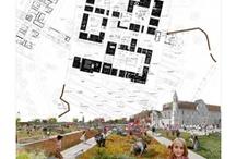 Europan 10 - Dauphins architecture- Saintes / Dans la cadre du concours européen Europan, j'ai participé en tant que stagiaire dans l'agence Dauphins architecture à Bordeaux à l'élaboration d'un projet sur la ville de Saintes.