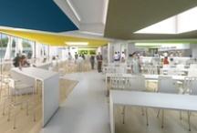 BDM architectes - Concours restaurant du personnel CHU Bordeaux / Concours pour la réalisation du restaurant du personnel du CHU de Bordeaux.