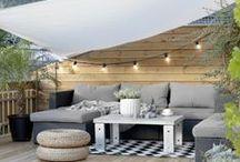 Wohnideen: Balkon / Ideen für den Balkon. Beleuchtung, Deko oder Events. Der Balkon ist im Sommer der schönste Ort im Zuhause.
