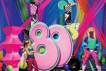 Bday Party Themed - 80's Theme / Collecting Ideas for my 30th Theme Birthday Party November 2013