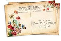 post cards & letters etc... / by Ann York