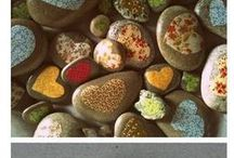 stones rocks  / by Ann York