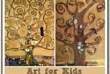 Gustav Klimt / Tree of Life art.