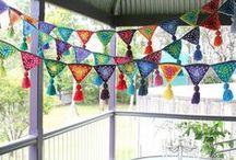 Crochet Bunting, Edgings & Curtains