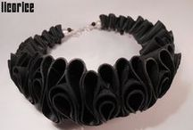 licorice flamenco / LICORICE. Hungarian upcycling jewellery and accessories The licorice objects are made from many kind of used gum, mostly from bicycle inner tube. Licorice is not just a decorative ecodesign products, like necklaces, earrings, bracelet, broochs, but also a social and ecological entrepreneurship, which helps to reduce the waste on the world and promotes the environmental responsibility. https://www.facebook.com/pages/Licorice/647871428589723