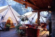 Glamping & Camping! / Glamping.....What an upgrade! But I Like Camping too!