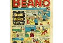 Comics of the Past / Beautiful Collections of old comics and magazines! Do you remember any of these?
