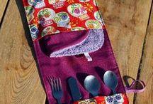 Estuches / Bolsas y estuches en tela y otros materiales.